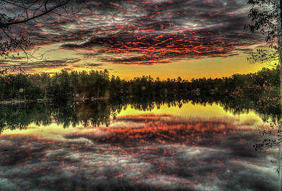 Photograph - Fire Reflections by Jane Luxton
