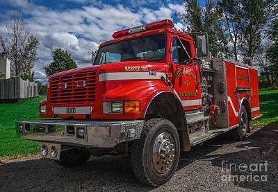 Photograph - Fire Rescue by Grace Grogan