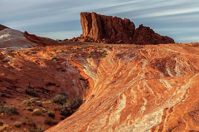 Photograph -  Fire Rock by Jonathan Nguyen