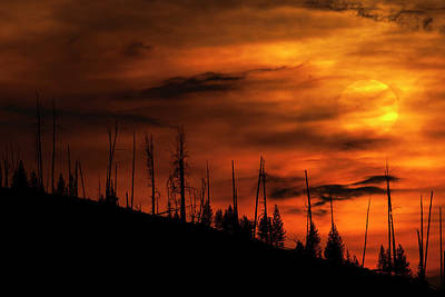 Photograph - Fire Sky by Chris LeBoutillier