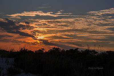Photograph - Fire Sky Sunset by Jose Oquendo