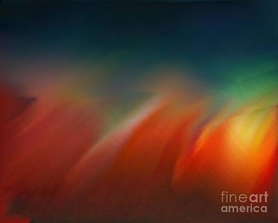 Digital Art - Fire Sky by Vicki Lynn Sodora