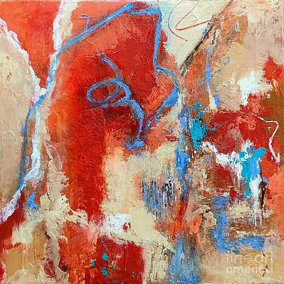Painting - Fire Spirits by Mary Mirabal