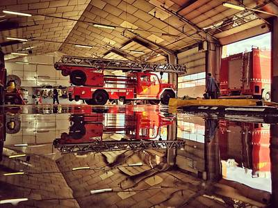 Photograph - Fire Station by Ferran Serra