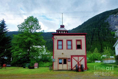 Photograph - Fire Station Stewart Bc Cn by David Arment