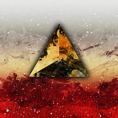 Platonic Digital Art - Fire by Stevyn Llewellyn