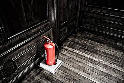 Photograph - Fire Stop by Joseph Westrupp