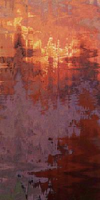 Digital Art - Fire Storm by David Hansen