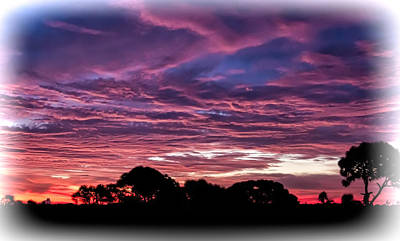 Photograph - Fire Sunrise by Richard Goldman