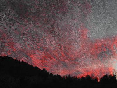 Photograph - Fire Sunset by Dorothy Berry-Lound