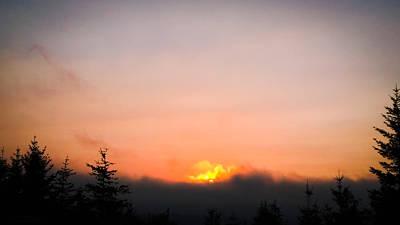 Superhero Ice Pops - Fire Sunset II by Lisa Kreymborg Photography