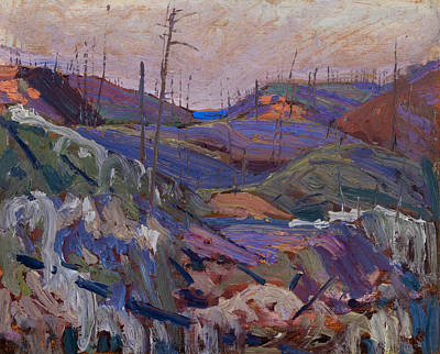 Painting - Fire-swept Hills by Tom Thomson