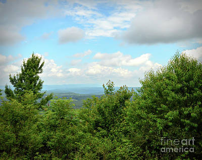Photograph - Fire Tower View - Pipestem State Park by Kerri Farley