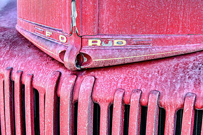 Photograph - Fire Truck At Manzanar by David Lawson