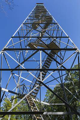 High Park Wildfire Photograph - Fire Watch Tower Elba 2 by John Brueske