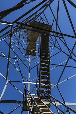 High Park Wildfire Photograph - Fire Watch Tower Elba 3 by John Brueske