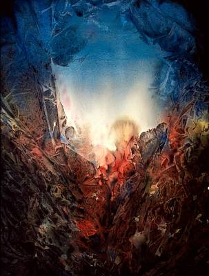 Painting - Fire Water by Shirley McMahon