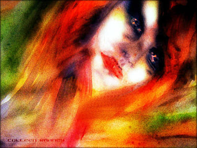Painting - Fire Woman by Colleen Ranney