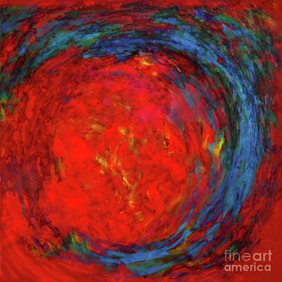 Painting - Fire Woman II by Jane Biven