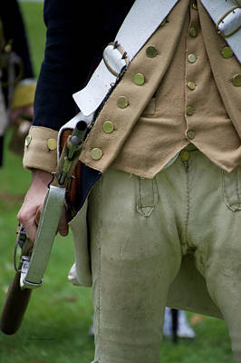 Revolutionary War Mixed Media - Firearms Military Revolutionary War Vertical 15 by Thomas Woolworth