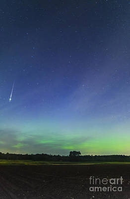 Photograph - Fireball Two Over The Farm by Patrick Fennell