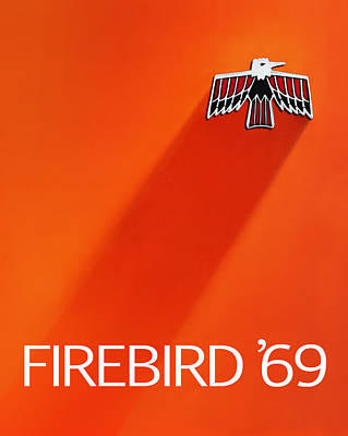 Firebird 69 Art Print by Mark Rogan