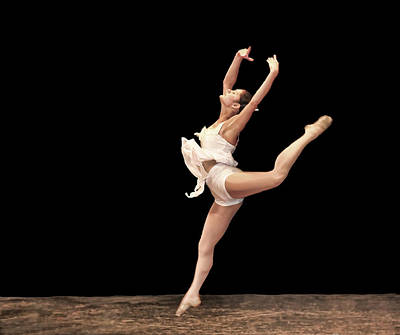 Photograph - Firebird Ballet Position by Ginger Wakem