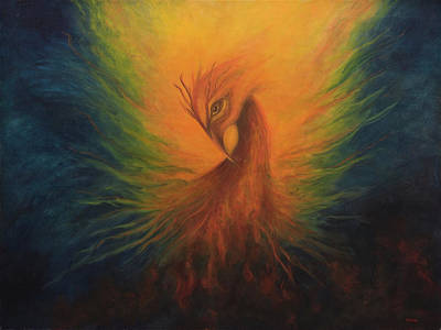 Painting - Firebird by Marina Petro