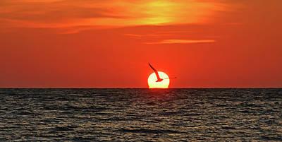 Photograph - Firebird Panorama by HH Photography of Florida