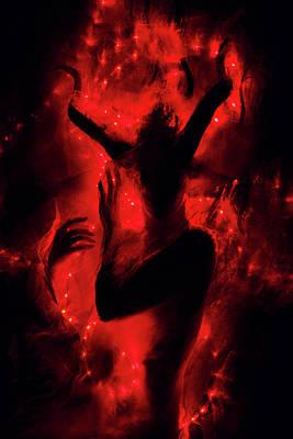 Sensual Digital Art - Fireborn by Cambion Art