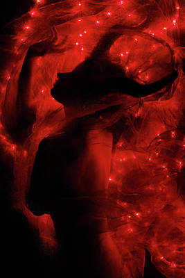 Sensual Digital Art - Fireborn II by Cambion Art