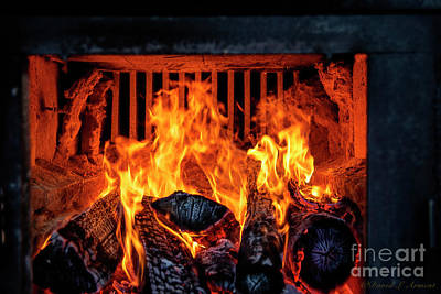 Photograph - Firebox In Sap Boiler by David Arment