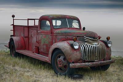 Photograph - Firefighter by Bill Dutting
