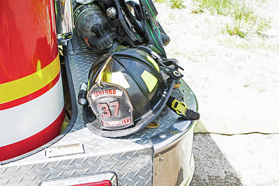 Photograph - Firefighters Lid by Lloyd Alexander