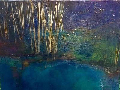 Fireflies Art Print
