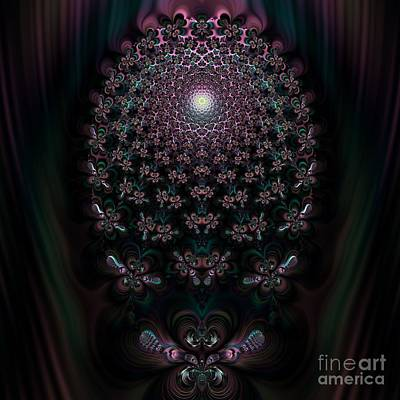 Digital Art - Fireflies New Awakening by Rose Santuci-Sofranko