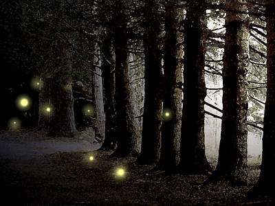 Painting - Fireflies by Paul Sachtleben