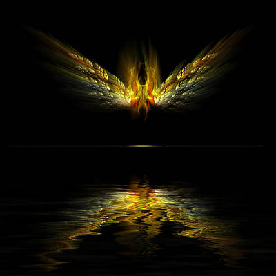 Digital Art - Firefly by Gordon Engebretson