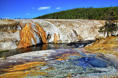Photograph - Firehole River In Yellowstone by Carolyn Derstine