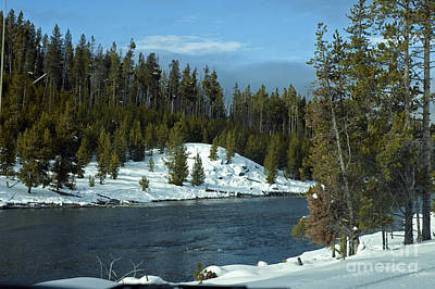 Photograph - Firehole River In Yellowstone by Cindy Murphy - NightVisions