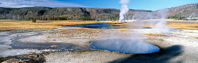 Spring Landscape Photograph - Firehole River In Yellowstone National by Panoramic Images