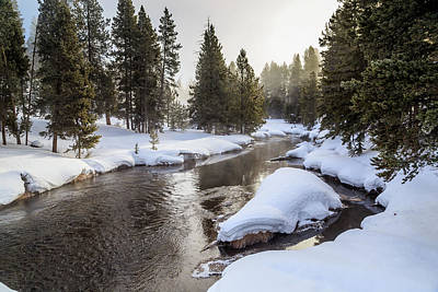 Photograph - Firehole River by Robert Caddy