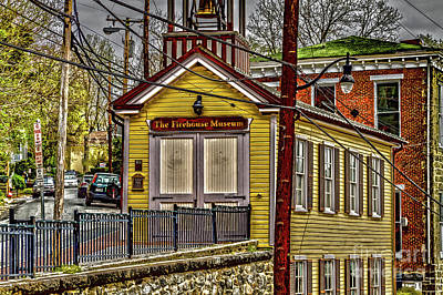Photograph - Firehouse Museum by William Norton
