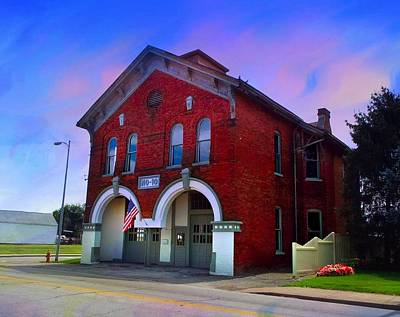 Photograph - Firehouse No 10 by Julie Dant