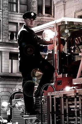 Photograph - Fireman by Brynn Ditsche