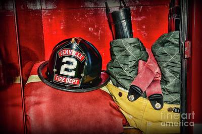 Photograph - Fireman Gear Ready by Paul Ward