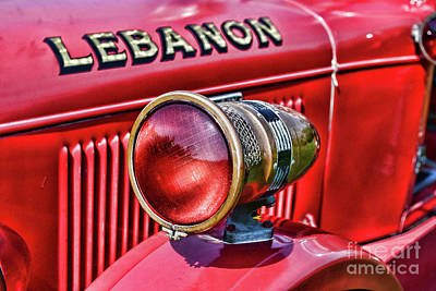Photograph - Fireman-lights And Sirens by Paul Ward