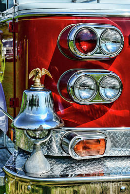 Photograph - Fireman -this Is My Fire Bell by Paul Ward