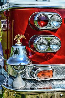 Fireman -this Is My Fire Bell Art Print