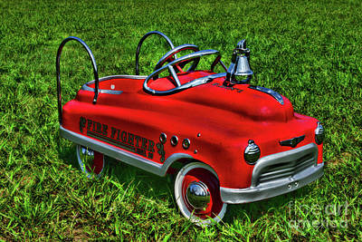 Peddle Photograph - Fireman When I Grow Up by Paul Ward